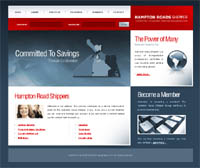 HR Shipper Web Site designed by Inspired Technologies